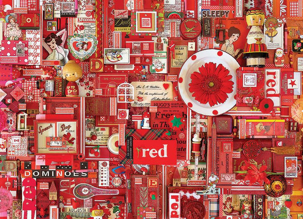 Cobble Hill 1000 Pc Puzzle - Red | Kitchen Art