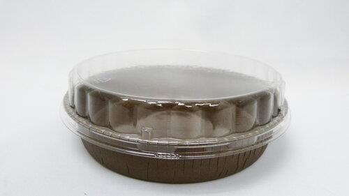 Novacart Pack of 10 Medium Round Clear Lids|Kitchen Art