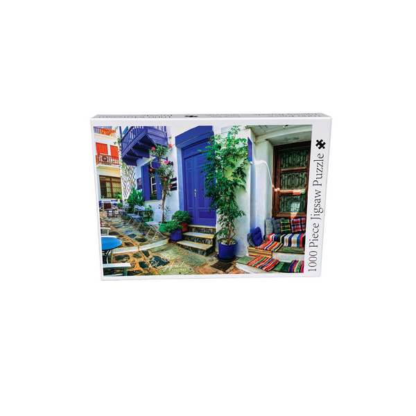 Playful Pastimes 1000 Pc Puzzle Greek Alley | Wrapt