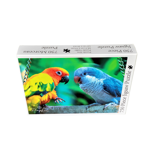 Playful Pastimes 750 Pc Puzzle Parrots | Wrapt