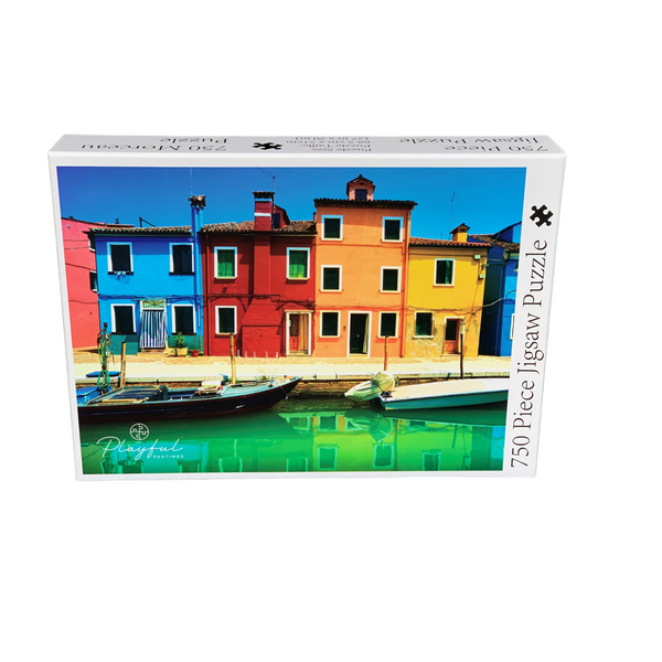 Playful Pastimes 750 Pc Puzzle Venice Canal | Wrapt