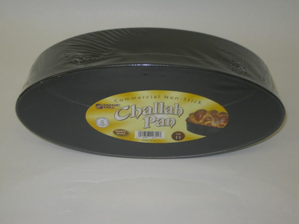 Magic Mill 11 Inch Oval Challah Pan | Kitchen Art