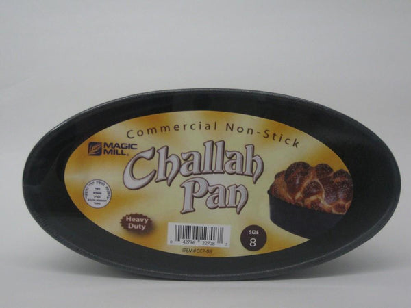Magic Mill 8 Inch Oval Challah Pan | Kitchen Art
