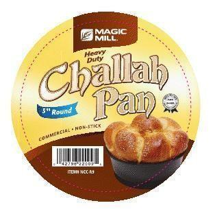 Magic Mill 5 Inch Round Challah Pan | Kitchen Art