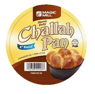 Magic Mill 8 Inch Round Challah Pan | Kitchen Art