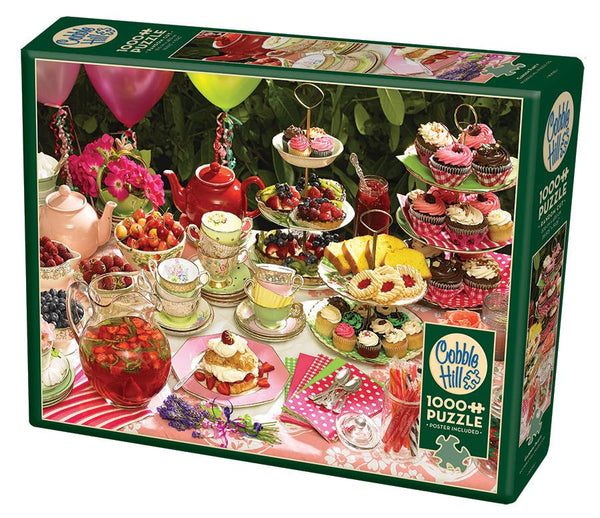 Cobble Hill1000 Piece Puzzle - Garden Party | Wrapt