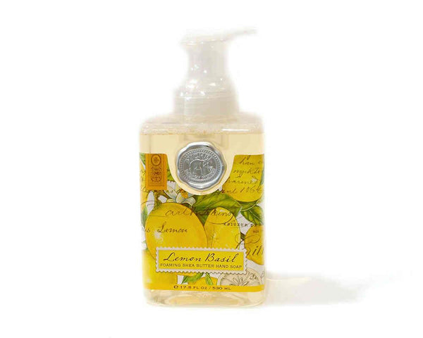 Michel Design Foaming Hand Soap Lemon Basil | Wrapt