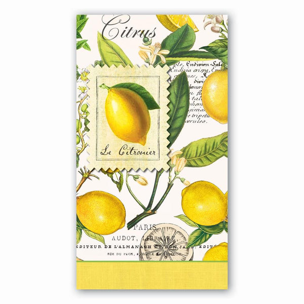 Michel Design Works Hostess Napkins Lemons | Wrapt