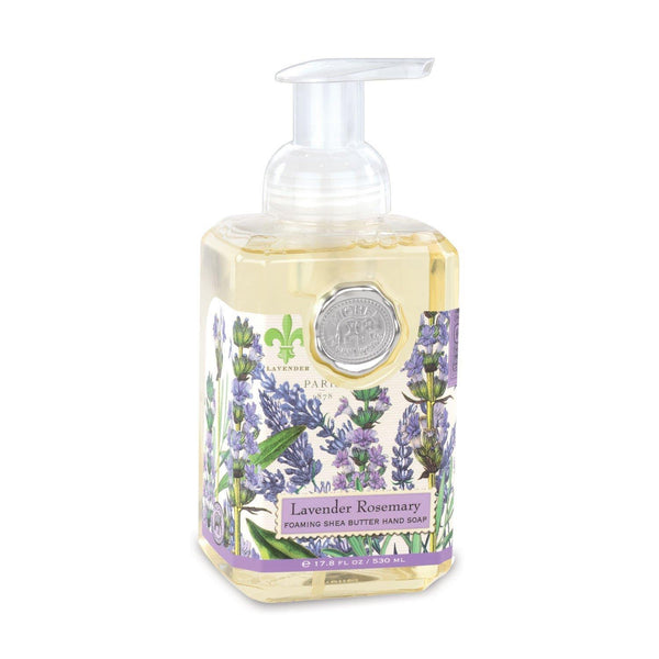 Michel Design Foaming Hand Soap Lavender Rosemary|Wrapt