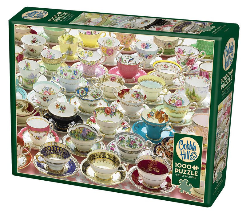 1000 Piece Puzzle - More Teacups