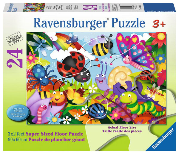 Ravensburger Floor Puzzle - Cute Bugs | Kitchen Art