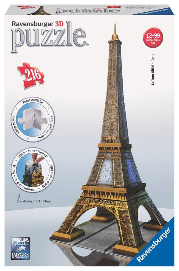 Ravensburger 3D Puzzle - Eiffel Tower | Kitchen Art