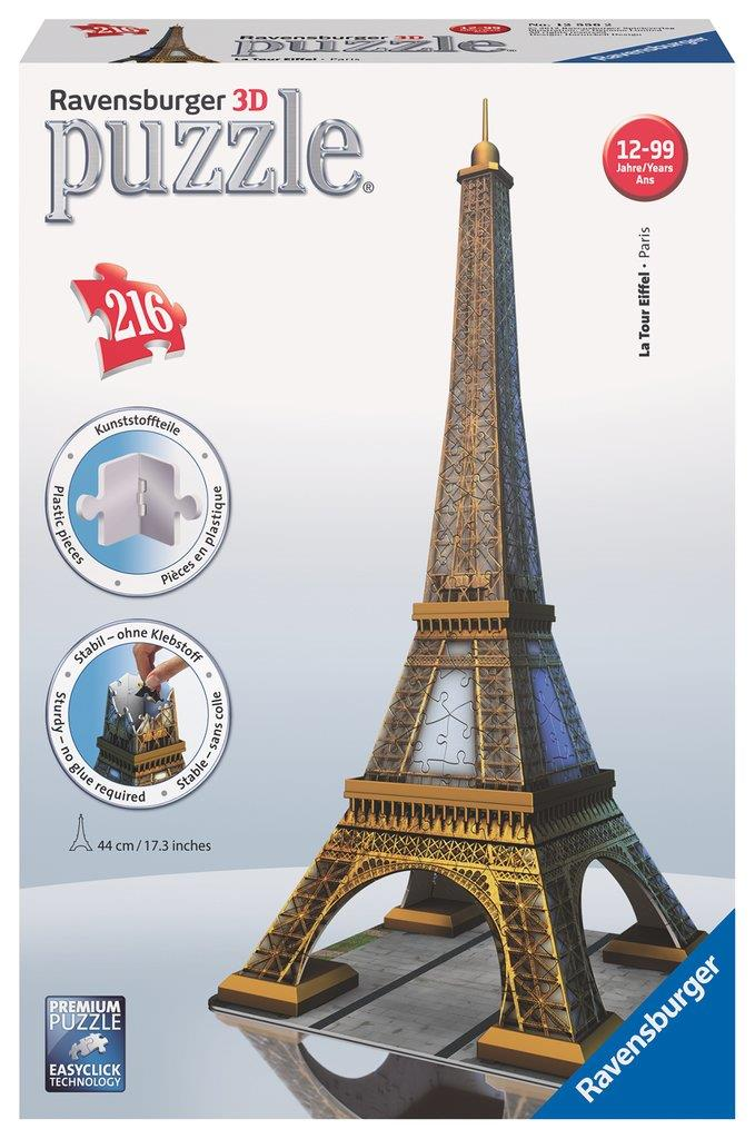 3D Puzzle - Eiffel Tower