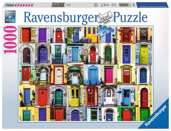 Ravensburger 1000 Pc Puzzle Doors of the World | Wrapt