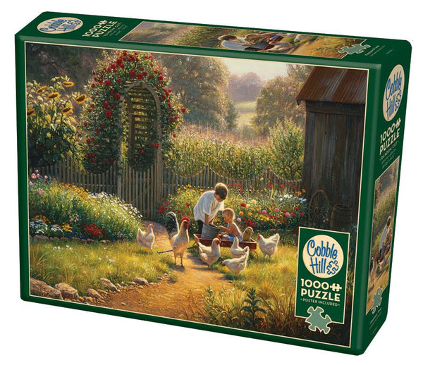 Cobble Hill 1000 Pc Puzzle Feeding Time | Wrapt