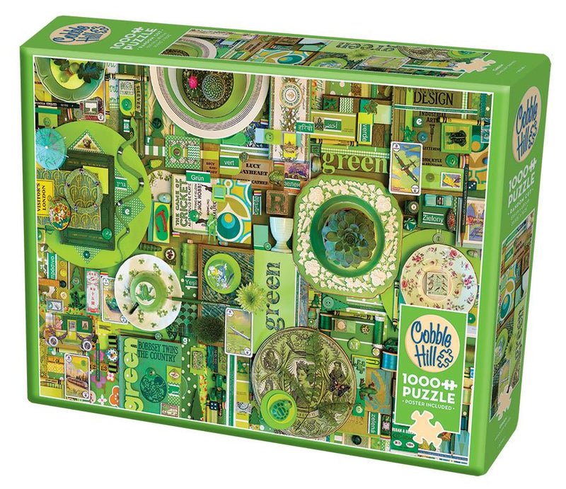 1000 Piece Puzzle - Green