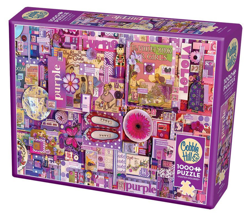 1000 Piece Puzzle - Purple