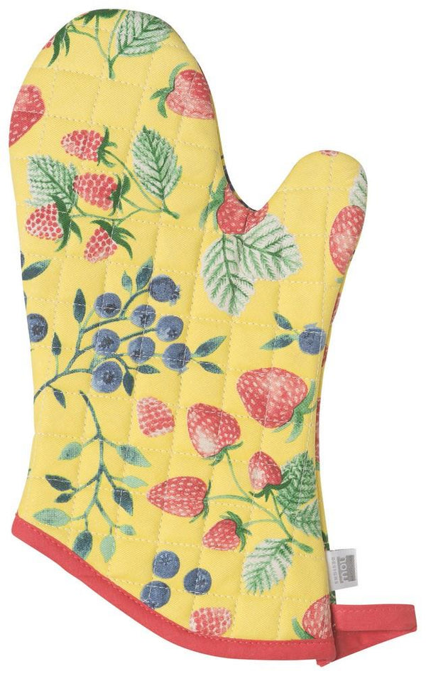 Set of 2 Oven Mitts - Berry Patch | Kitchen Art | Wrapt