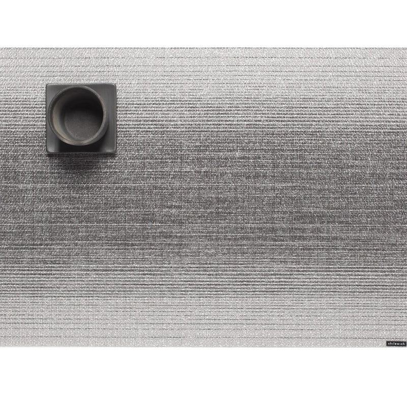 Table Mat - Silver Ombre