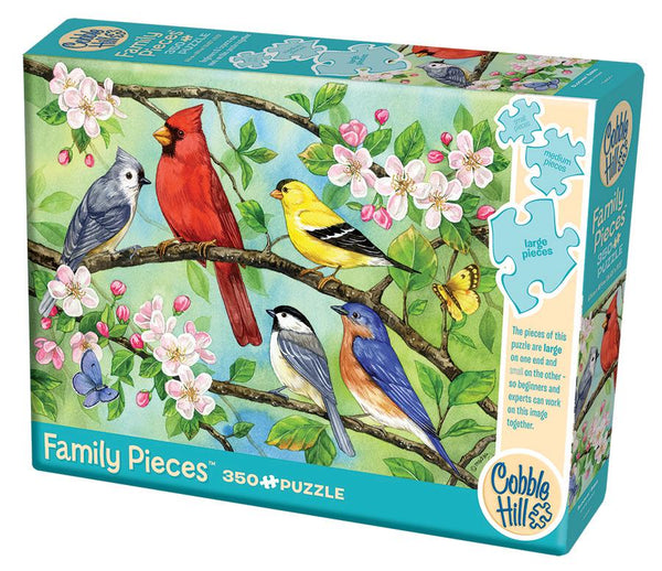 Cobble Hill Family Puzzle 350pc Bloomin' Birds | Wrapt