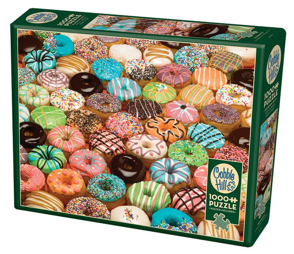 1000 Piece Puzzle - Doughnuts | Kitchen Art | Wrapt
