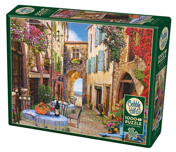 Cobble Hill 1000 Pc Puzzle French Village | Kitchen Art
