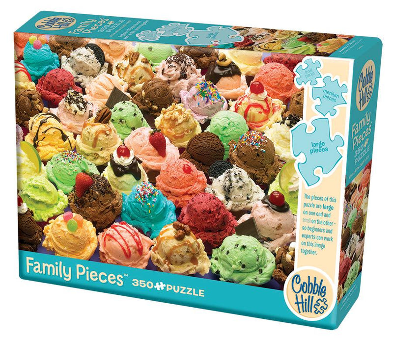 350 Piece Family Puzzle - More Ice Cream