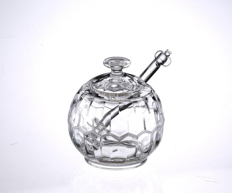 Sphere Acrylic Honey Jar | Kitchen Art | Wrapt