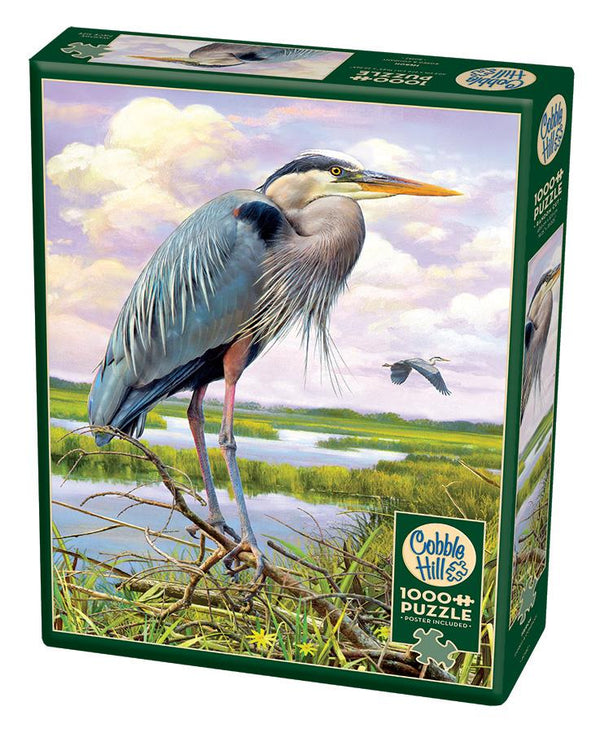 Cobble Hill 1000 Pc Puzzle - Heron | Kitchen Art