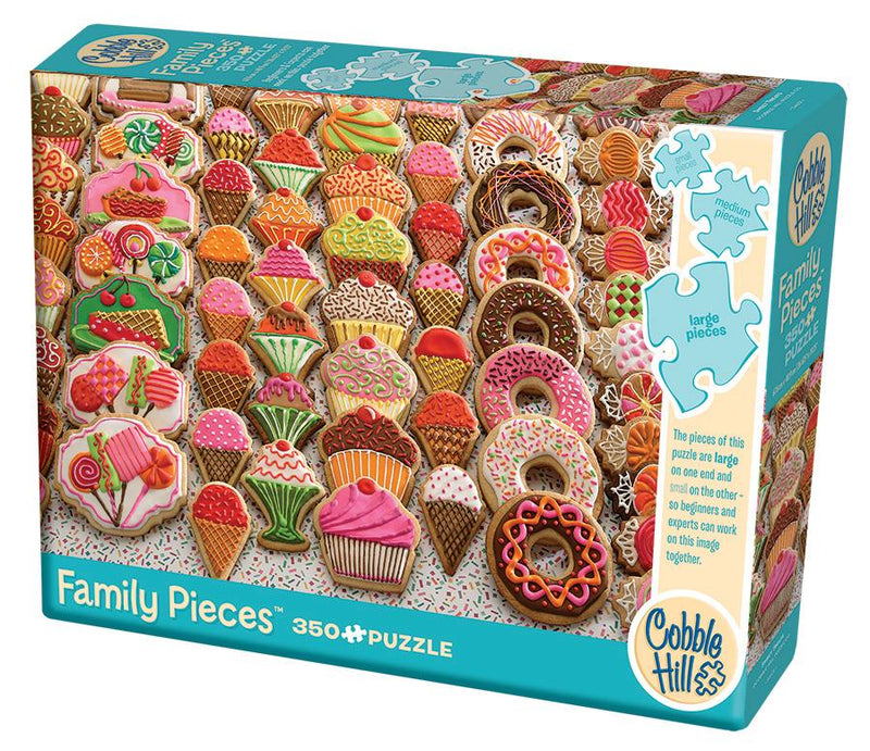 350 Piece Family Puzzle - Sweet Treats