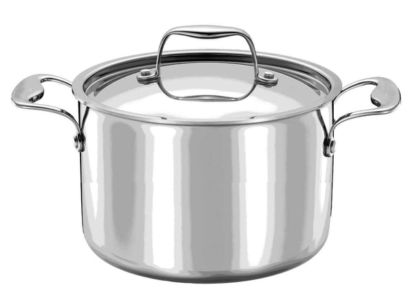 Strauss Integral 3 Stockpot - 7.7L | Kitchen Art