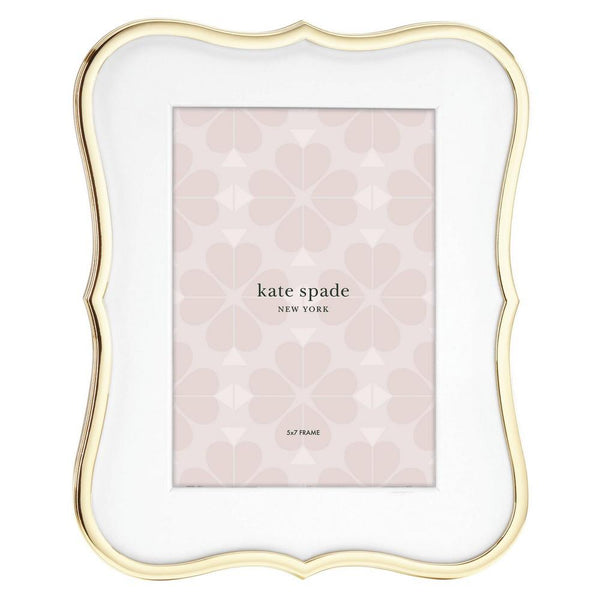 Kate Spade 5x7 Frame Gold Crown Point | Wrapt