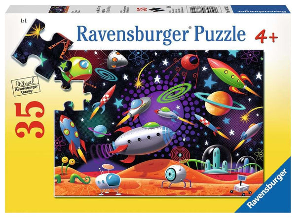 Ravensburger 35 Piece Puzzle - Space | Kitchen Art