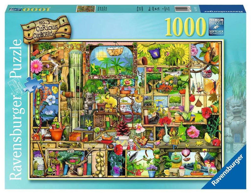 1000 Piece Puzzle - The Gardener's Cupboard