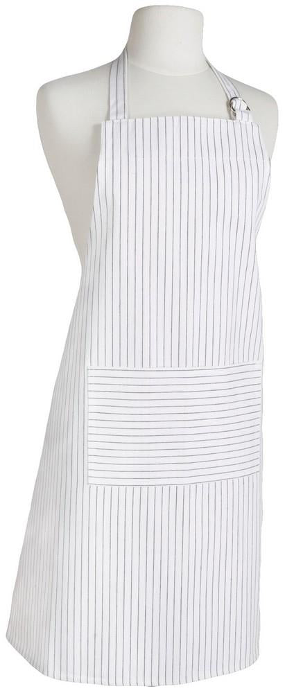 Chef's Apron - Pinstripe White | Kitchen Art