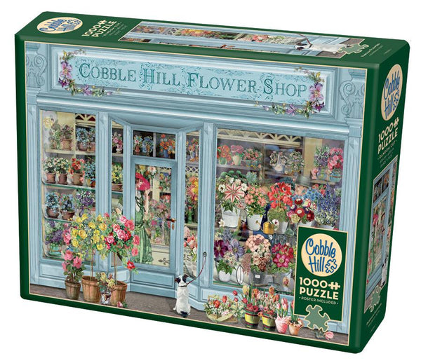 Cobble  Hill 1000 Pc. Puzzle - Parisian Flowers | Wrapt