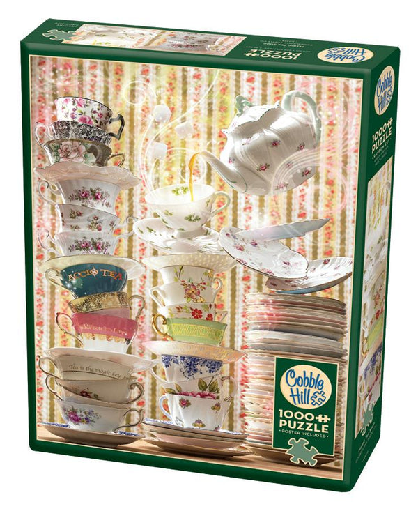 Cobble Hill 1000 Piece Puzzle - Magic Tea Shop | Wrapt