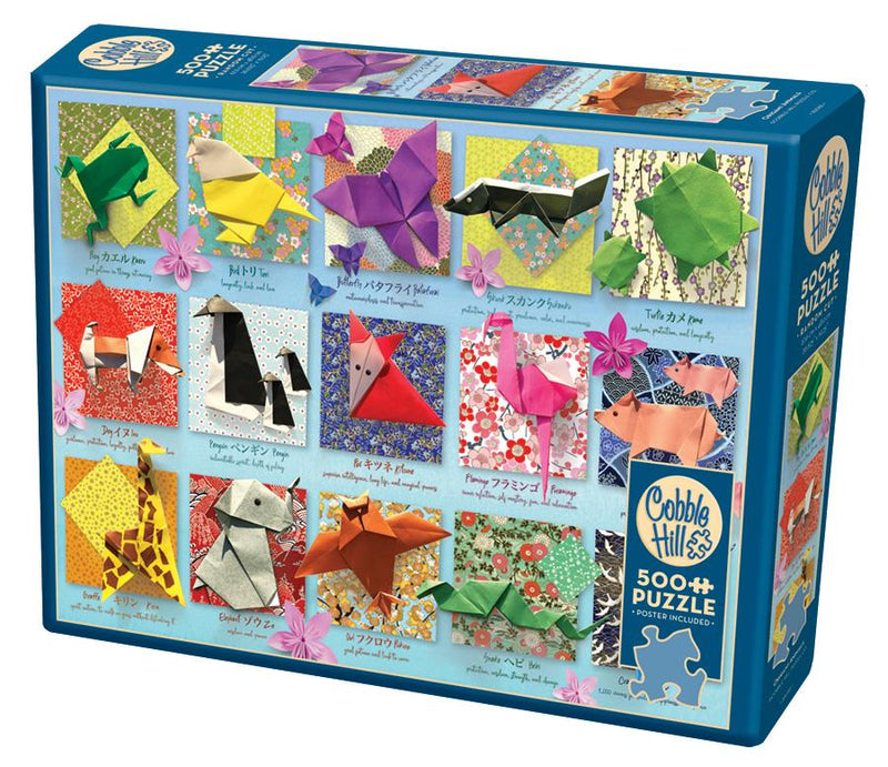 500 Piece Puzzle - Origami Animals