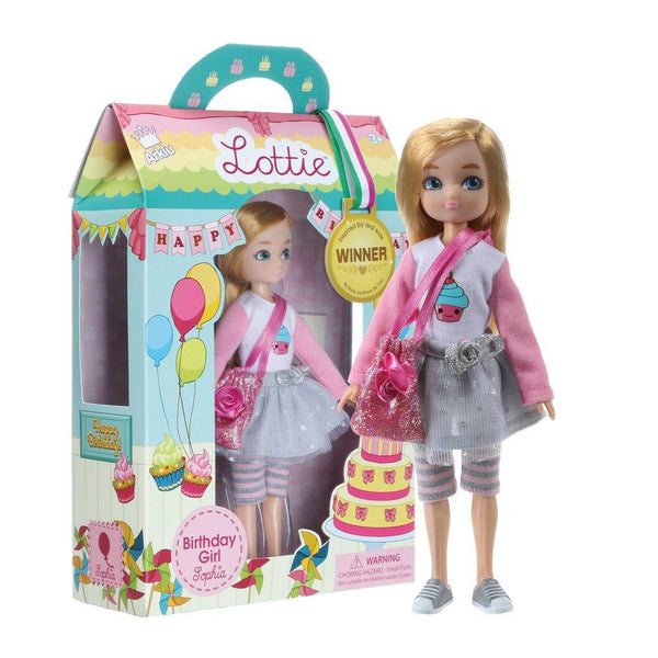 Lottie Birthday Girl Doll | Kitchen Art | Wrapt