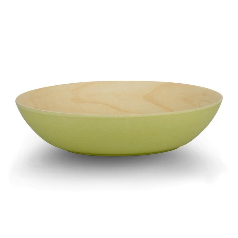 Poke Bamboo Bowl - Maple/Green