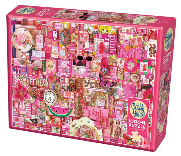 Cobble Hill 1000 Pc. Puzzle - Pink | Kitchen Art