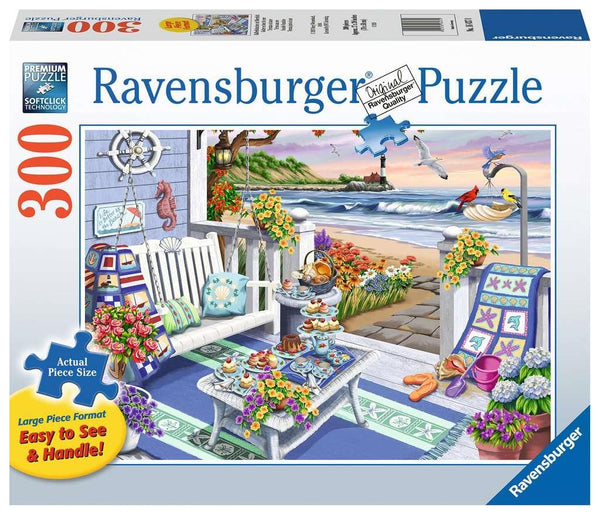 Ravensburger 300 Pc Puzzle Seaside Sunshine | Wrapt