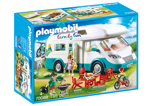 Playmobil Family Camper | Kitchen Art | Wrapt