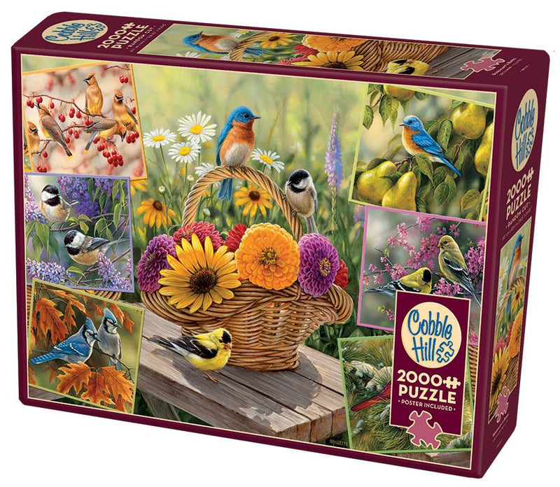 2000 Piece Puzzle - Rosemary's Birds