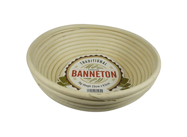 Banneton Large Round Proofing Basket | Kitchen Art