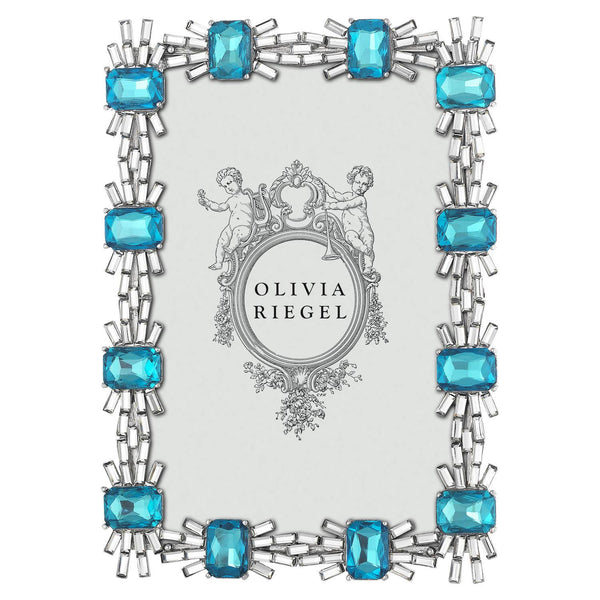 Olivia Riegel Blue Tourmaline 4x6 Picture Frame | Wrapt