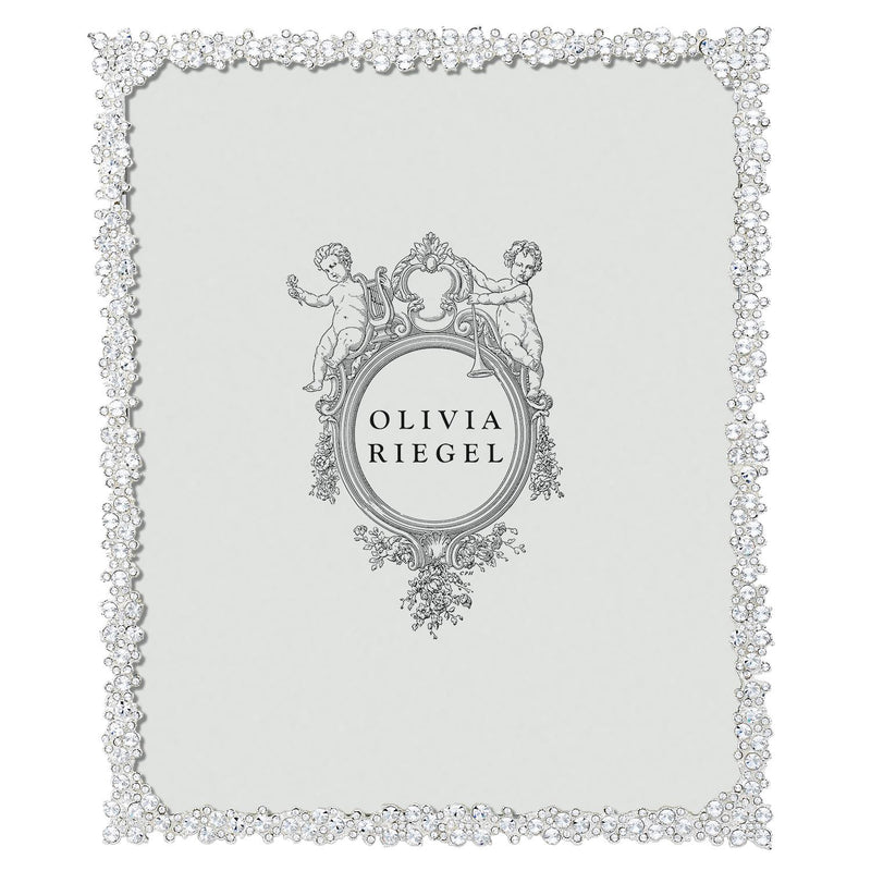 Silver Princess 8 x 10 Picture Frame