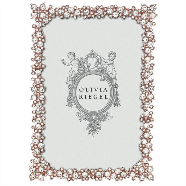Olivia Riegel Rose Gold Princess 4x6 Frame | Wrapt
