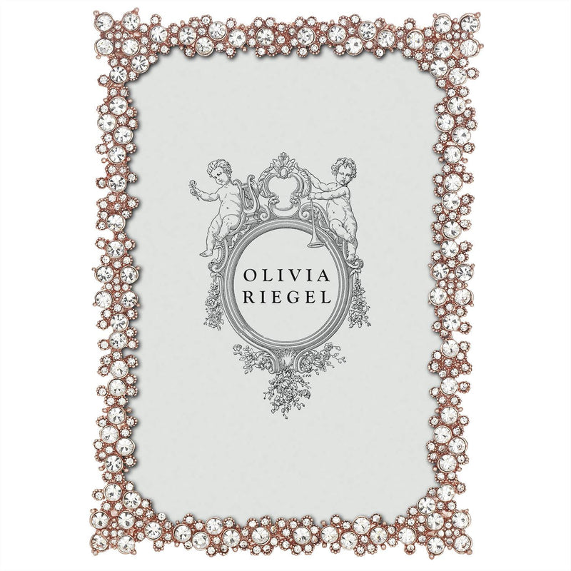 Rose Gold Princess 4x6  Picture Frame