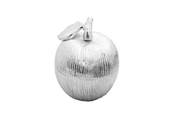 Silver Apple Honey Jar | Kitchen Art | Wrapt